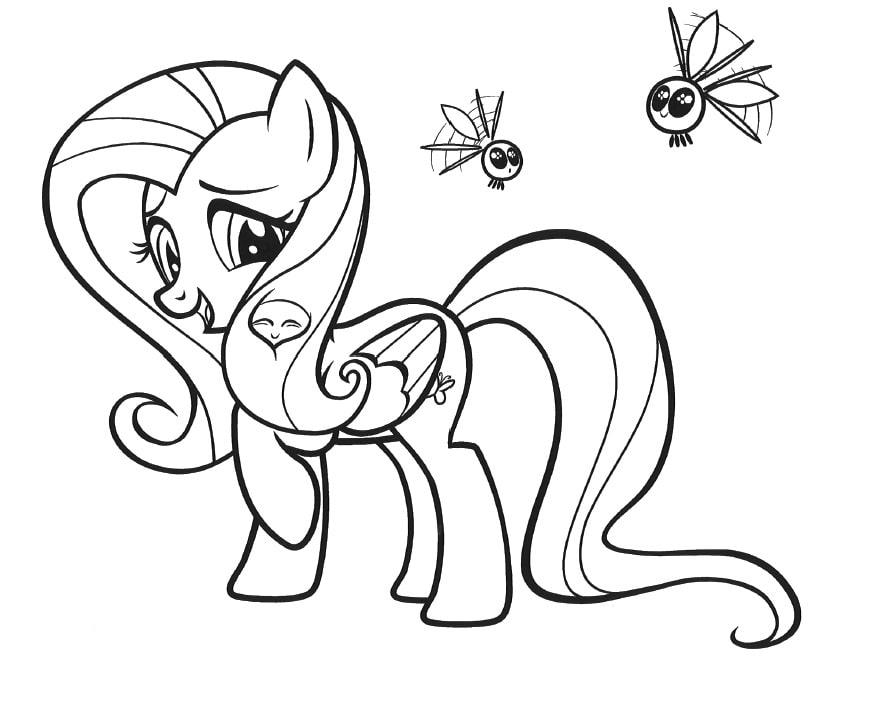 Dibujos De My Little Pony Para Colorear Imprime Gratis 100