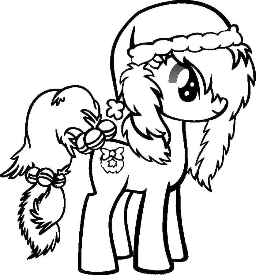 """Pagine da colorare """"My Little Pony"""". Stampa gratuitamente,100 immagini"""