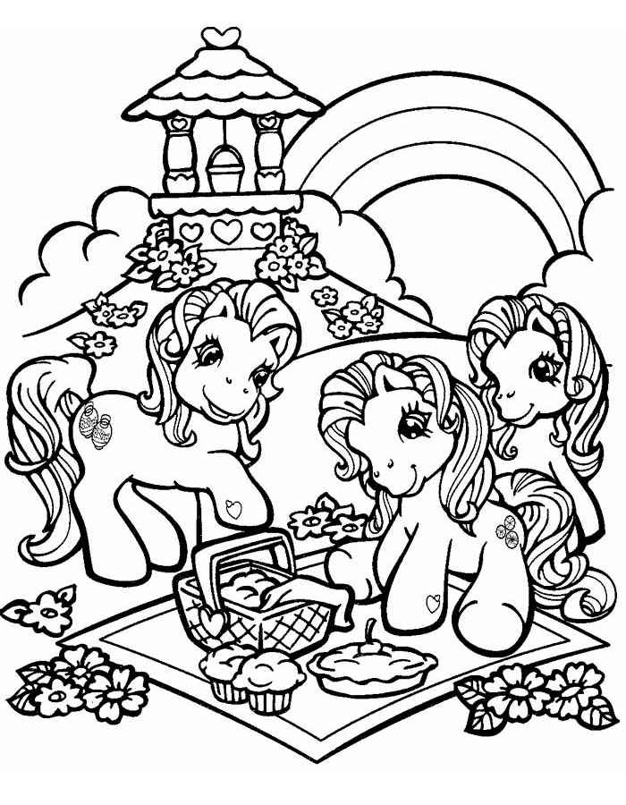 My Little Pony Сoloring Pages. Print for Free Online! 100 Pieces