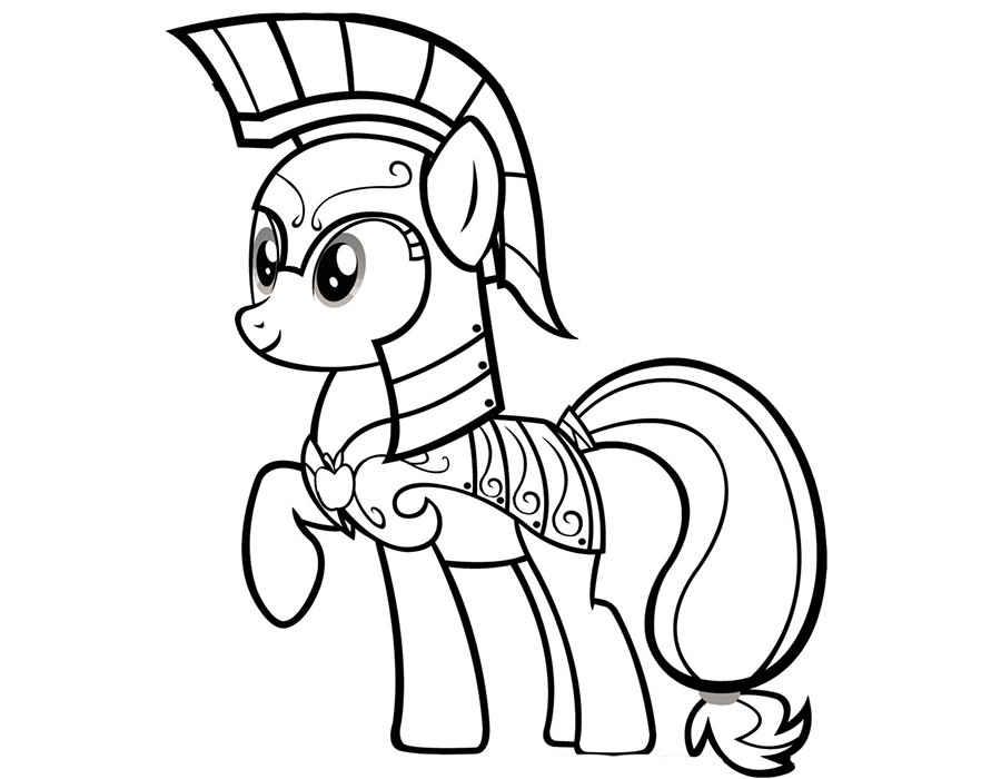 Desenhos de My Little Pony para colorir. Imprimir gratuitamente