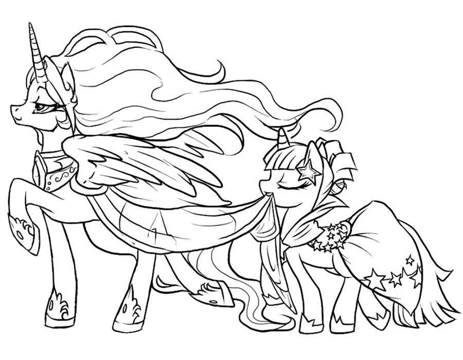 coloring pages : Free Printable My Little Pony Coloring Pages For ... | 700x900