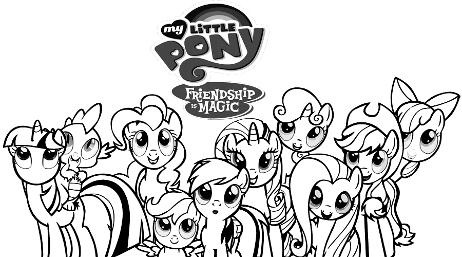 My Little Pony сoloring Pages Print For Free Online 100 Pieces
