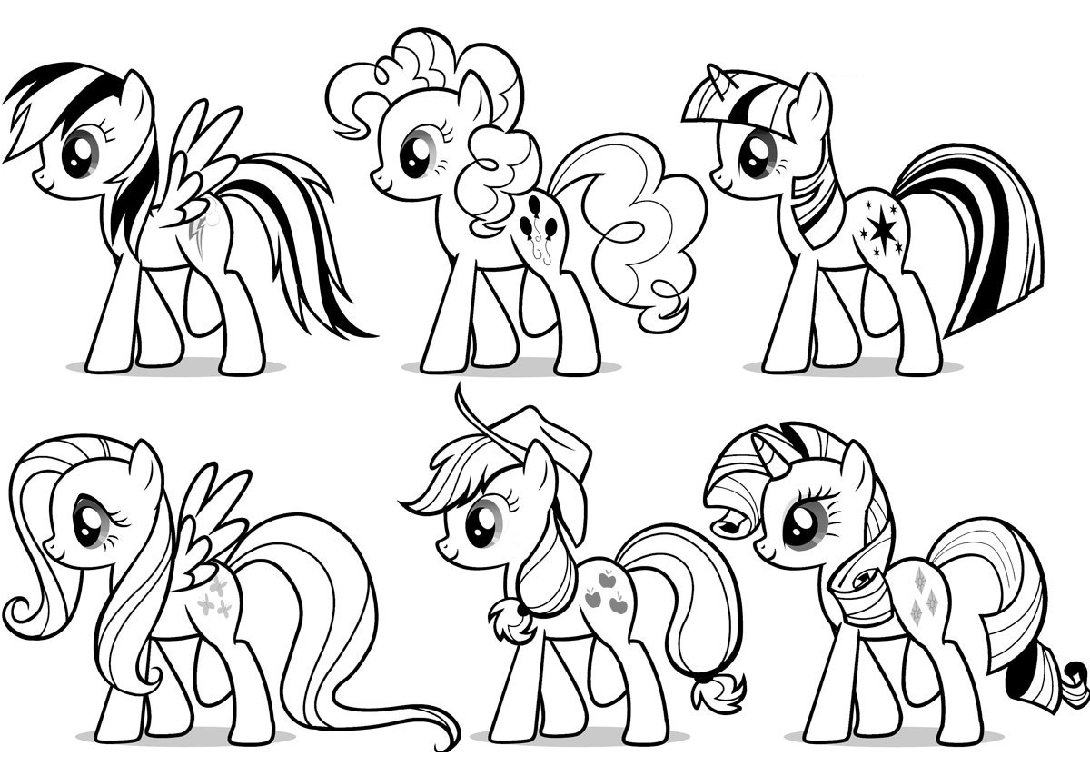 64 Marvelous My Little Pony Coloring Book Download Photo Ideas ... | 854x1200