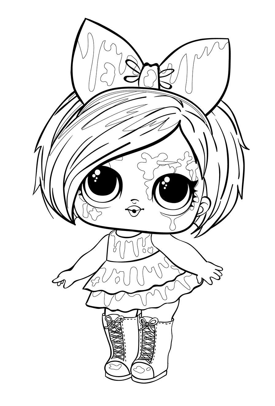 LOL Surprise Dolls Coloring Pages. Print Them for Free ...