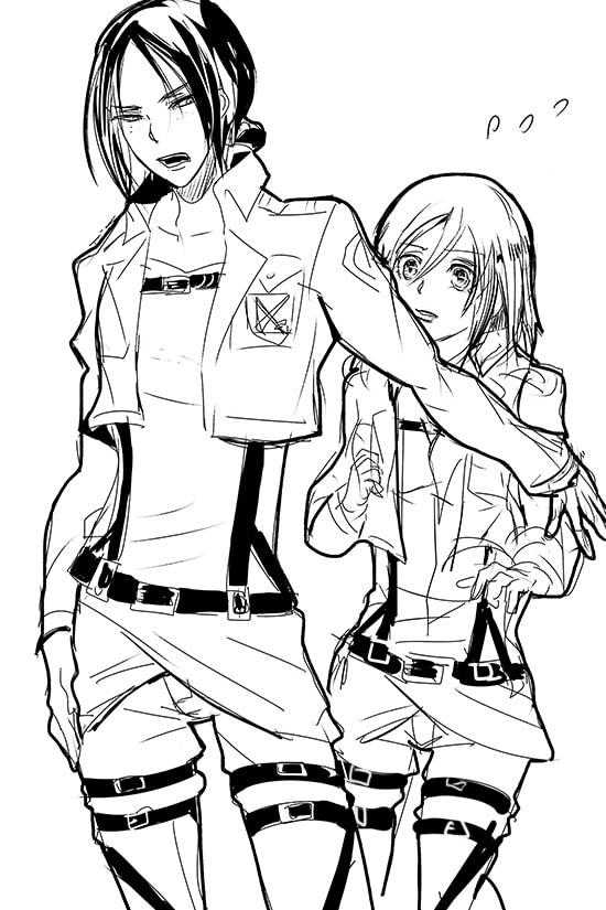 Аниме-девушки: раскраски известных героинь аниме и манги