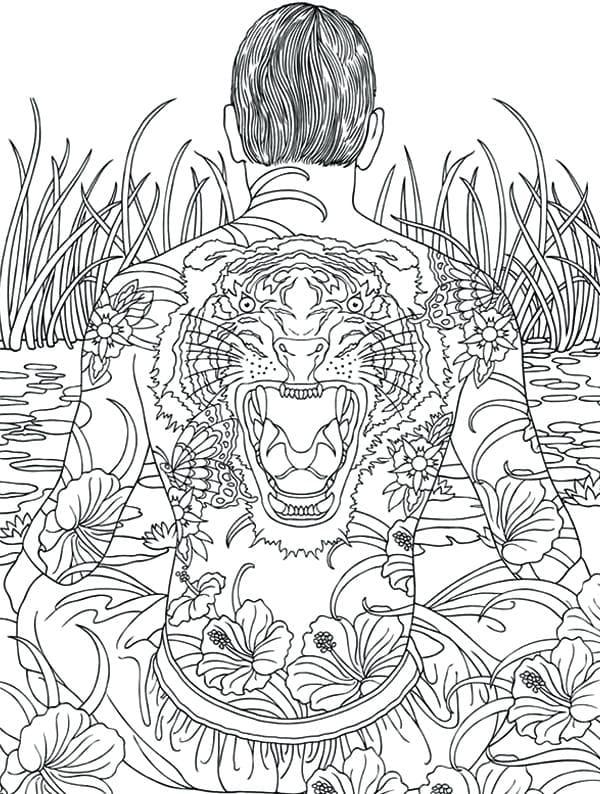 Dibujos para colorear para adultos. Todos los temas posibles! Imprimir gratis