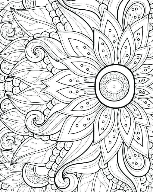 Pagine da colorare per gli adulti. Tutti i soggetti! Stampa gratuitamente