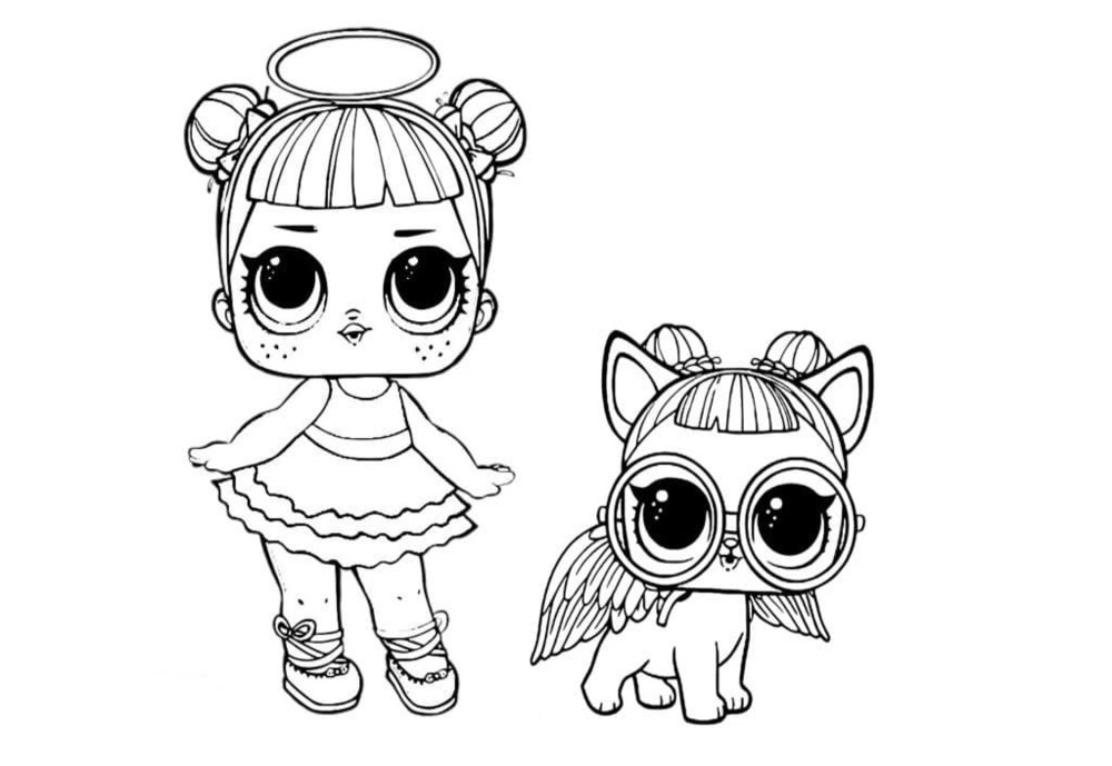 LOL Pets Coloring Pages. 25 Images Free Printable