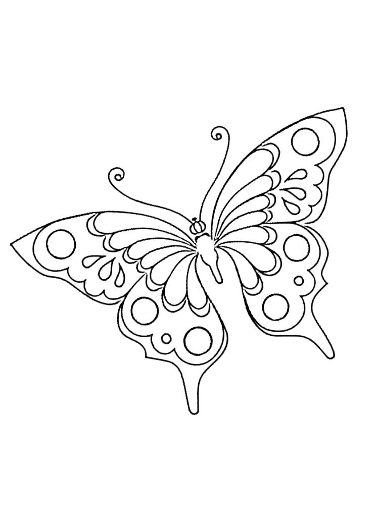 Schmetterlinge Zum Ausmalbilder Fur Kinder 100 Bilder Kostenlos