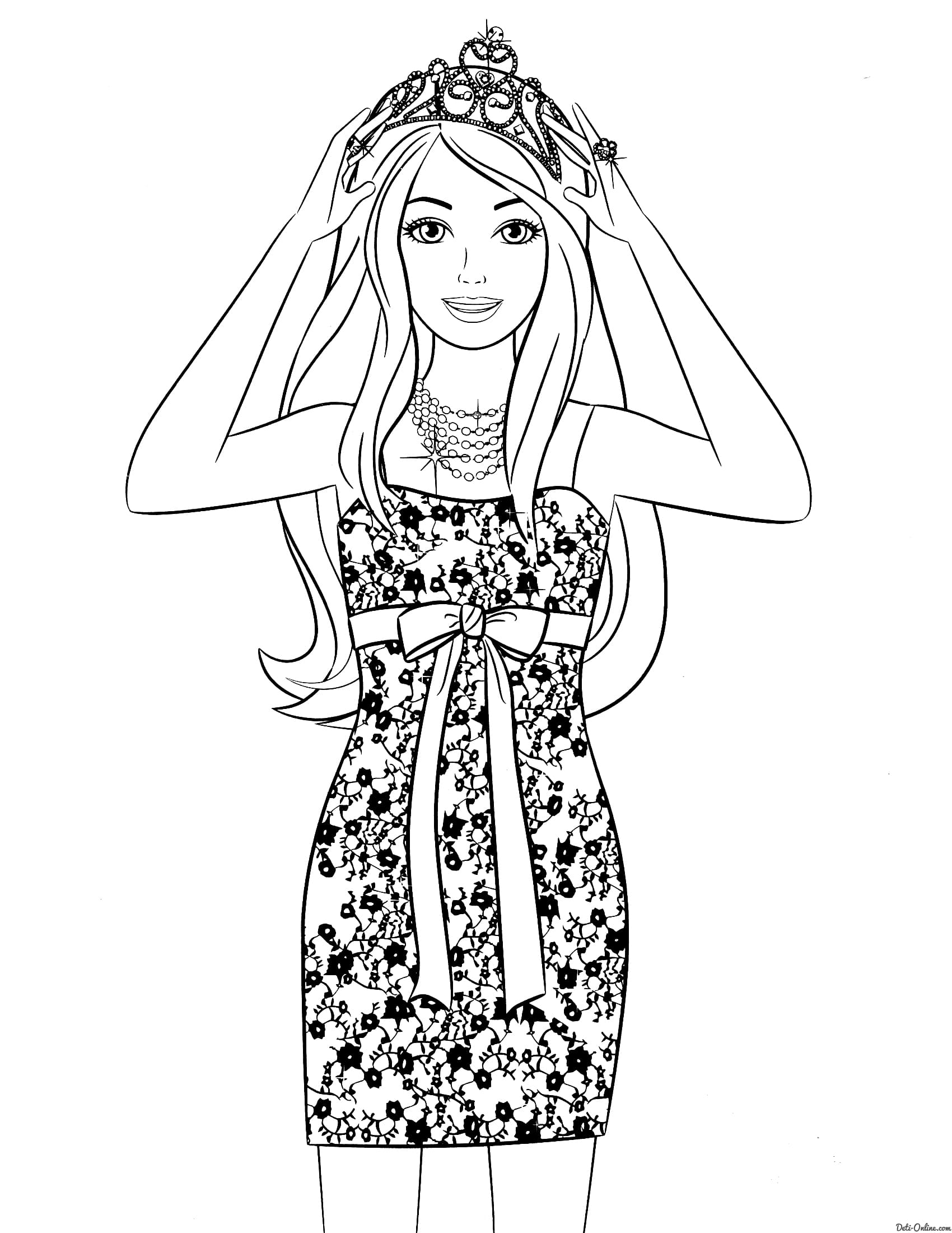 Coloring Pages Dresses - Coloring Home | 2200x1700