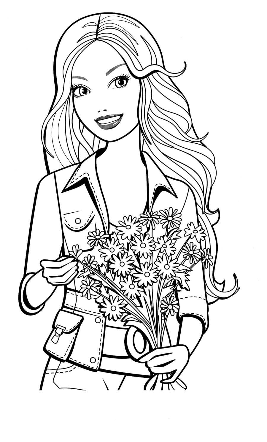 Desenhos do Barbie para colorir. Você pode imprimir gratuitamente