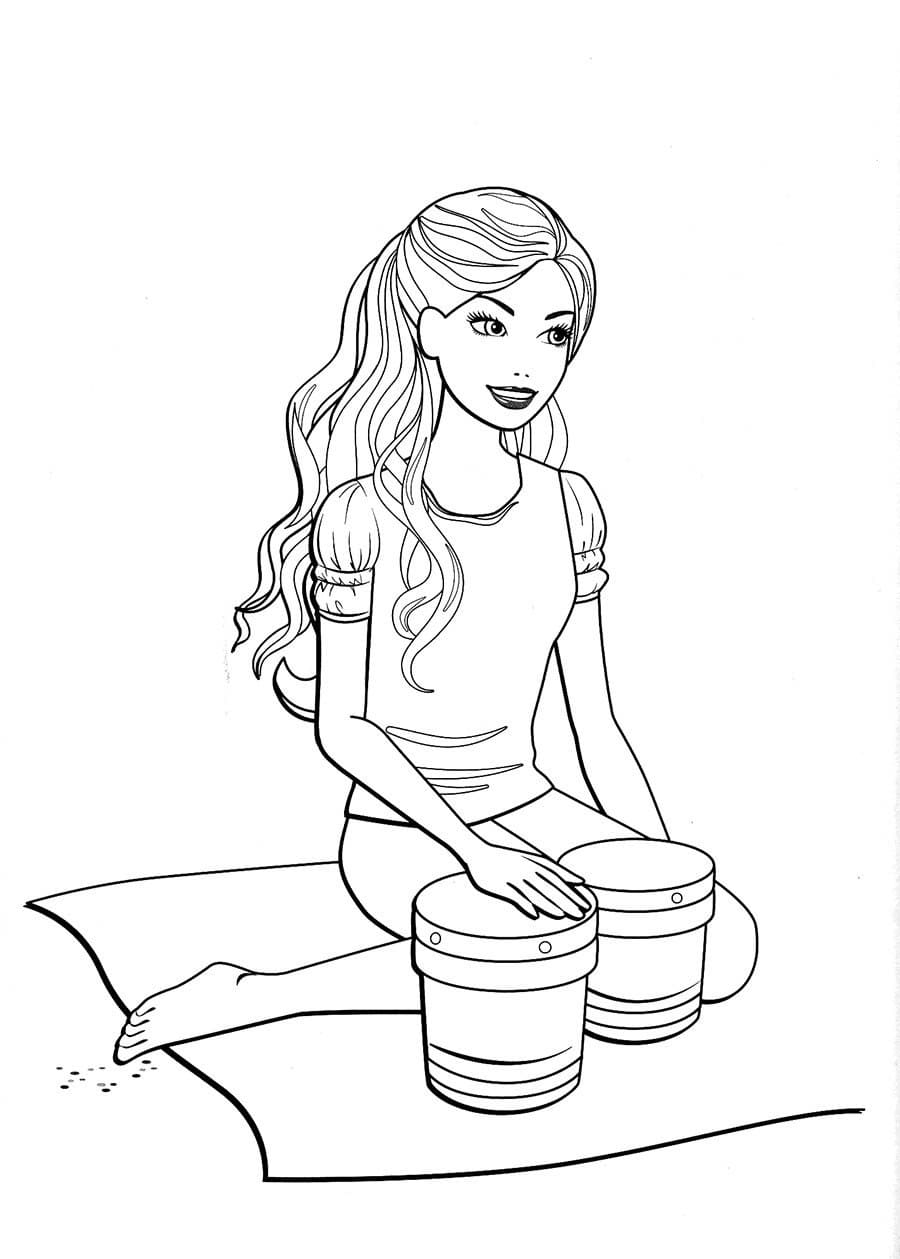 Barbie Coloring Pages. Print for Free. 100 Pictures