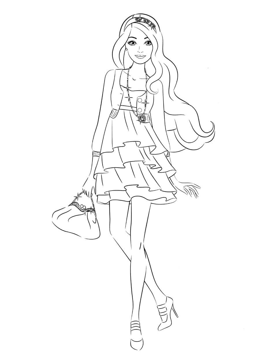 Barbie Coloring Pages 105 Images Free Printable