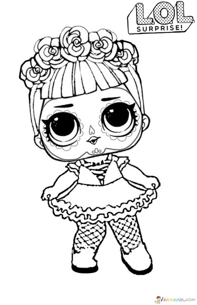 LOL Surprise Dolls Coloring Pages Print Them For Free! All The Series
