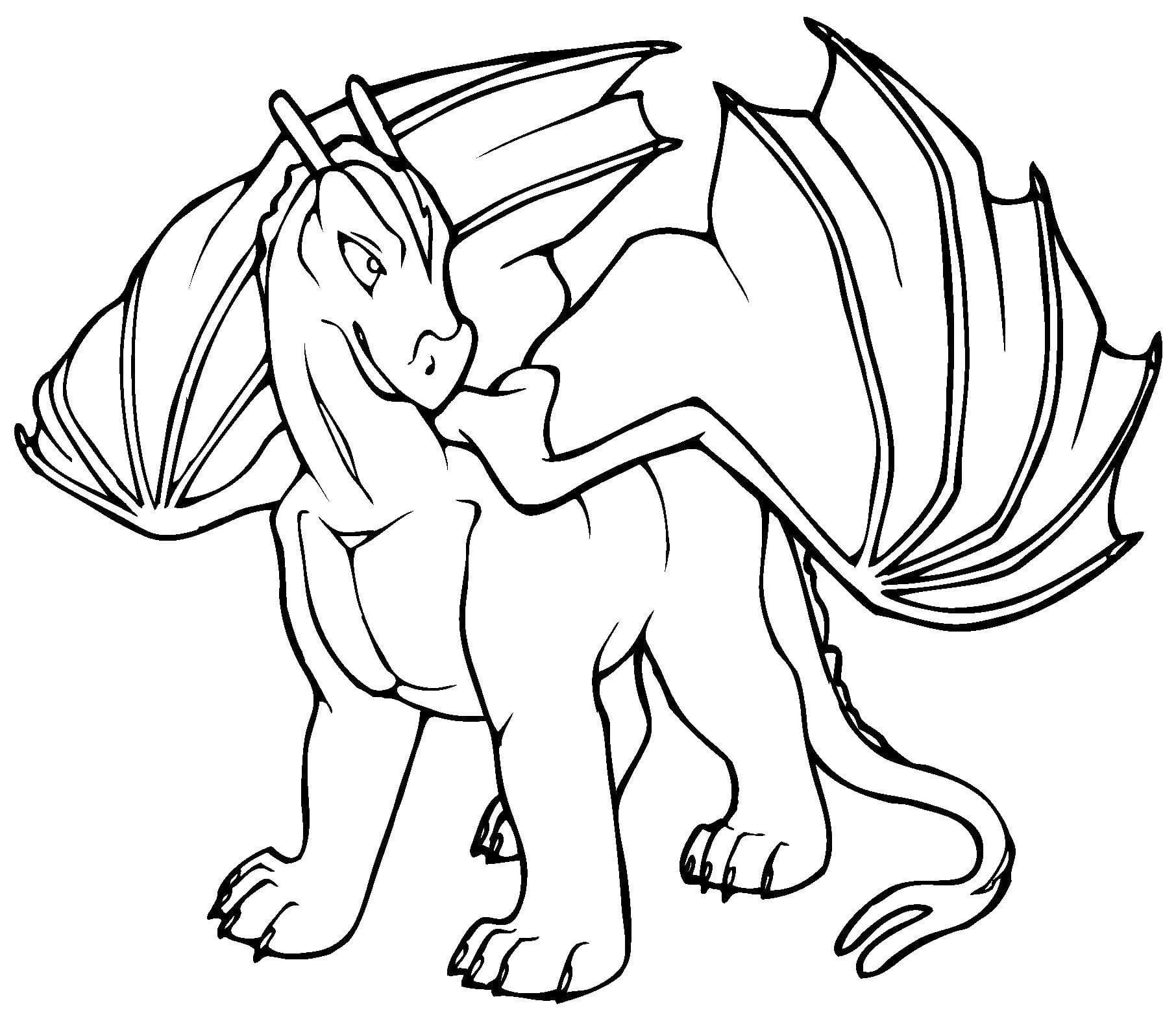 dragon coloring page free printable coloring pages - HD 1812×1573