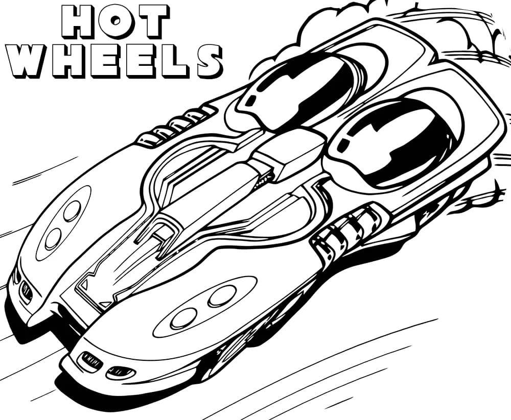 раскраски хот вилс Hot Wheels распечатайте бесплатно