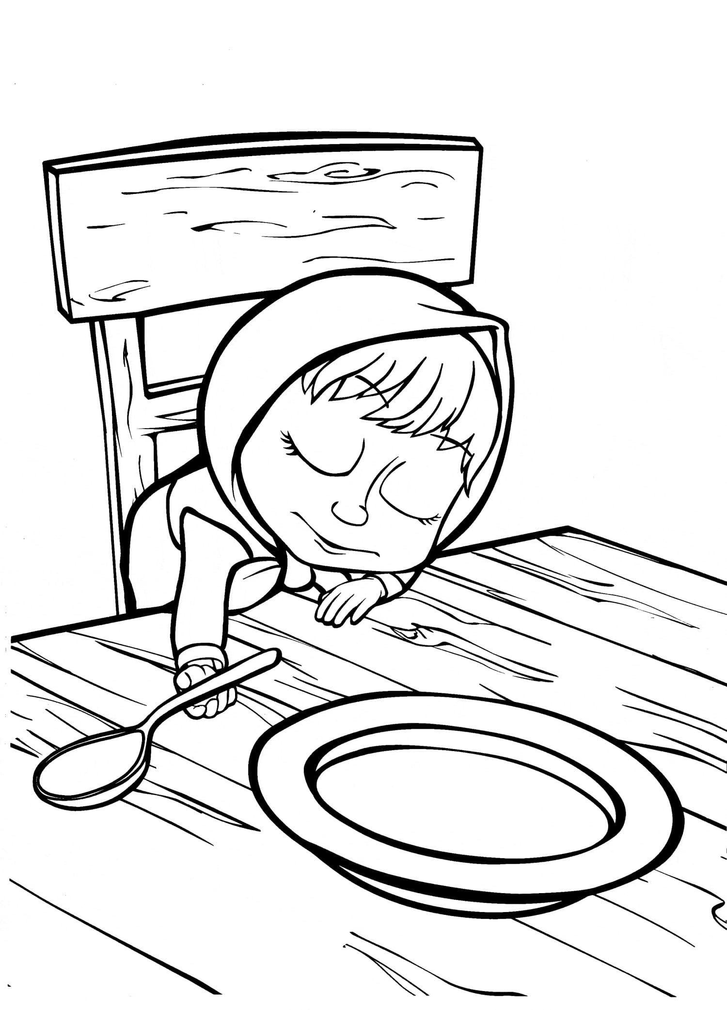 Masha And The Bear Coloring Pages 80 Images Free Printable