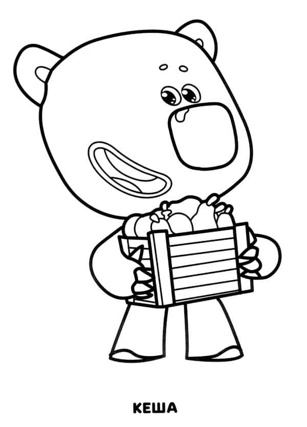 Раскраски Мимимишек для детей, распечатайте бесплатно!