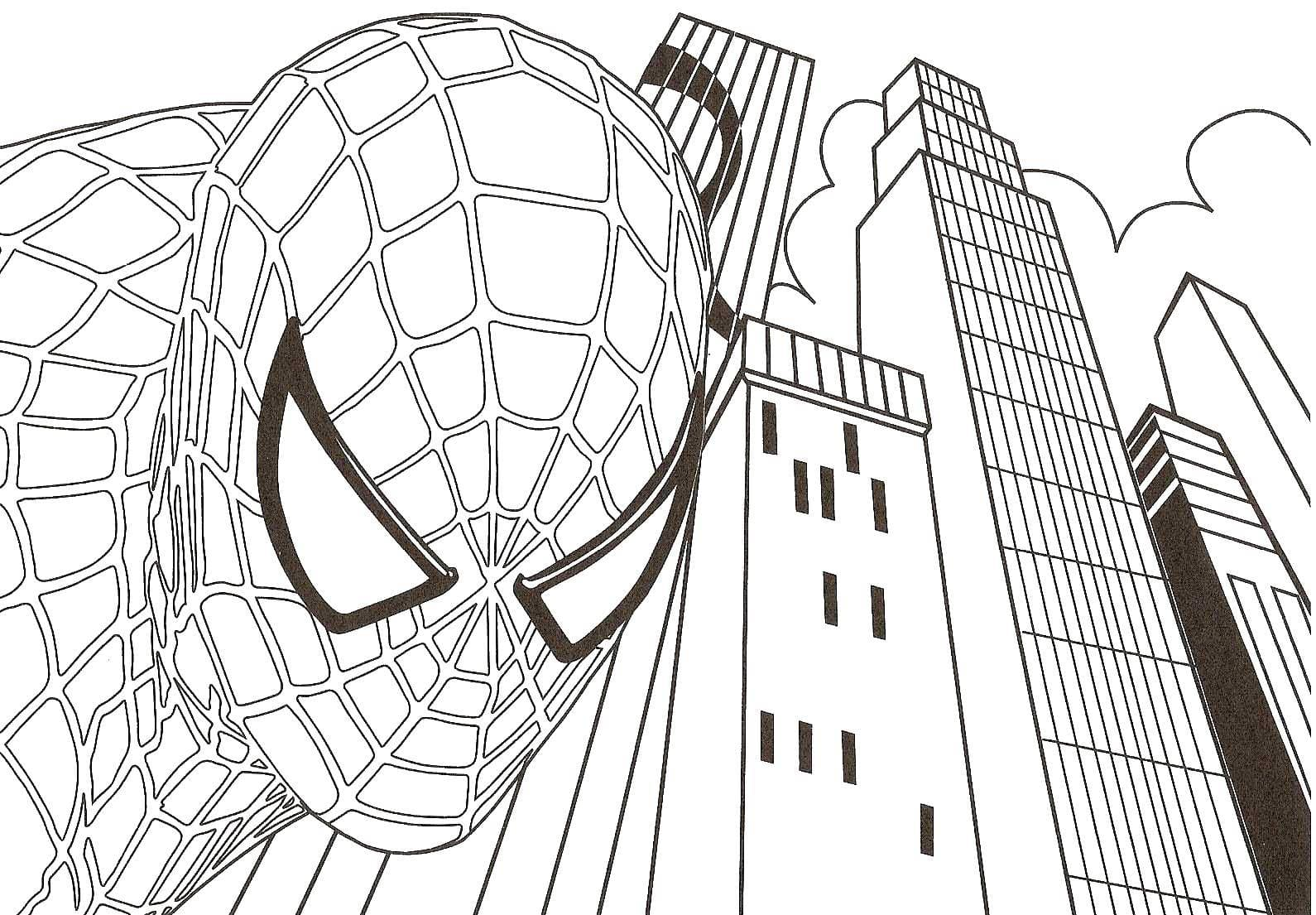 Spider Man Homecoming Coloring Pages Spiderman Coloring Pages Only ... | 1105x1590