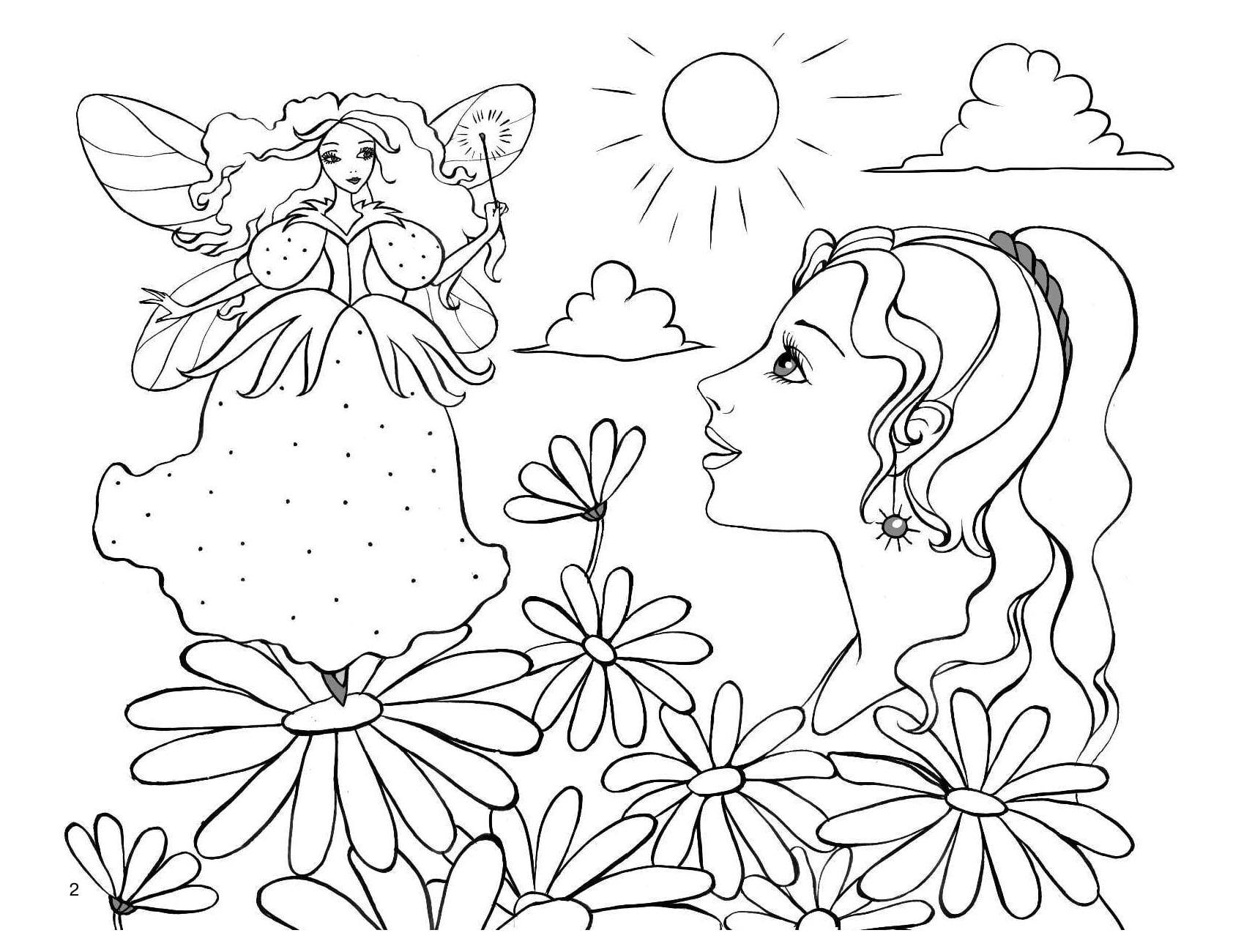 Распечатайте антистрессовые раскраски для девочек здесь! 111 штук
