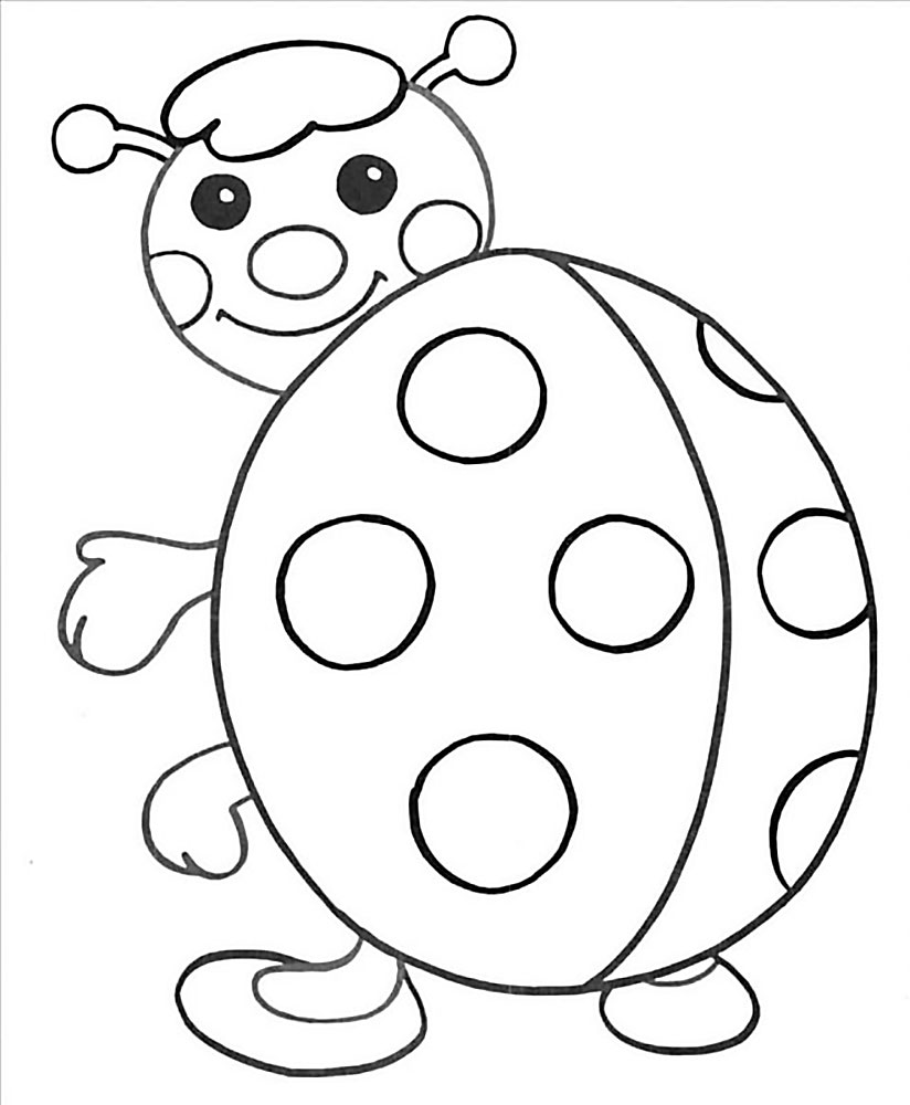 Coloring Pages For 2 To 3 Year Old Kids Download Them Or