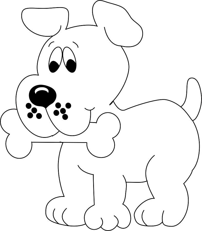 Páginas para colorear para niños de 2 a 3 años. ¡Descargue o imprima ...