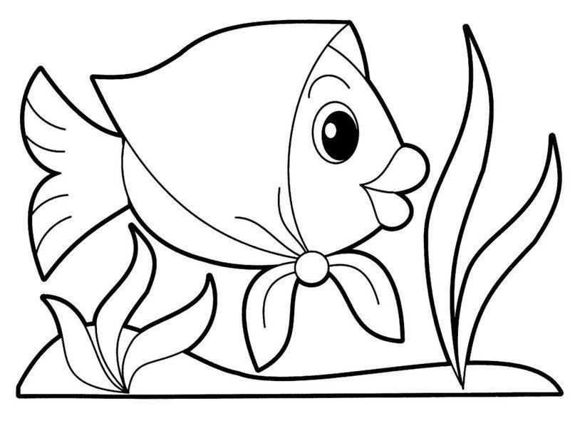 Раскраски для малышей 2-3 года. Скачайте или распечатайте онлайн!