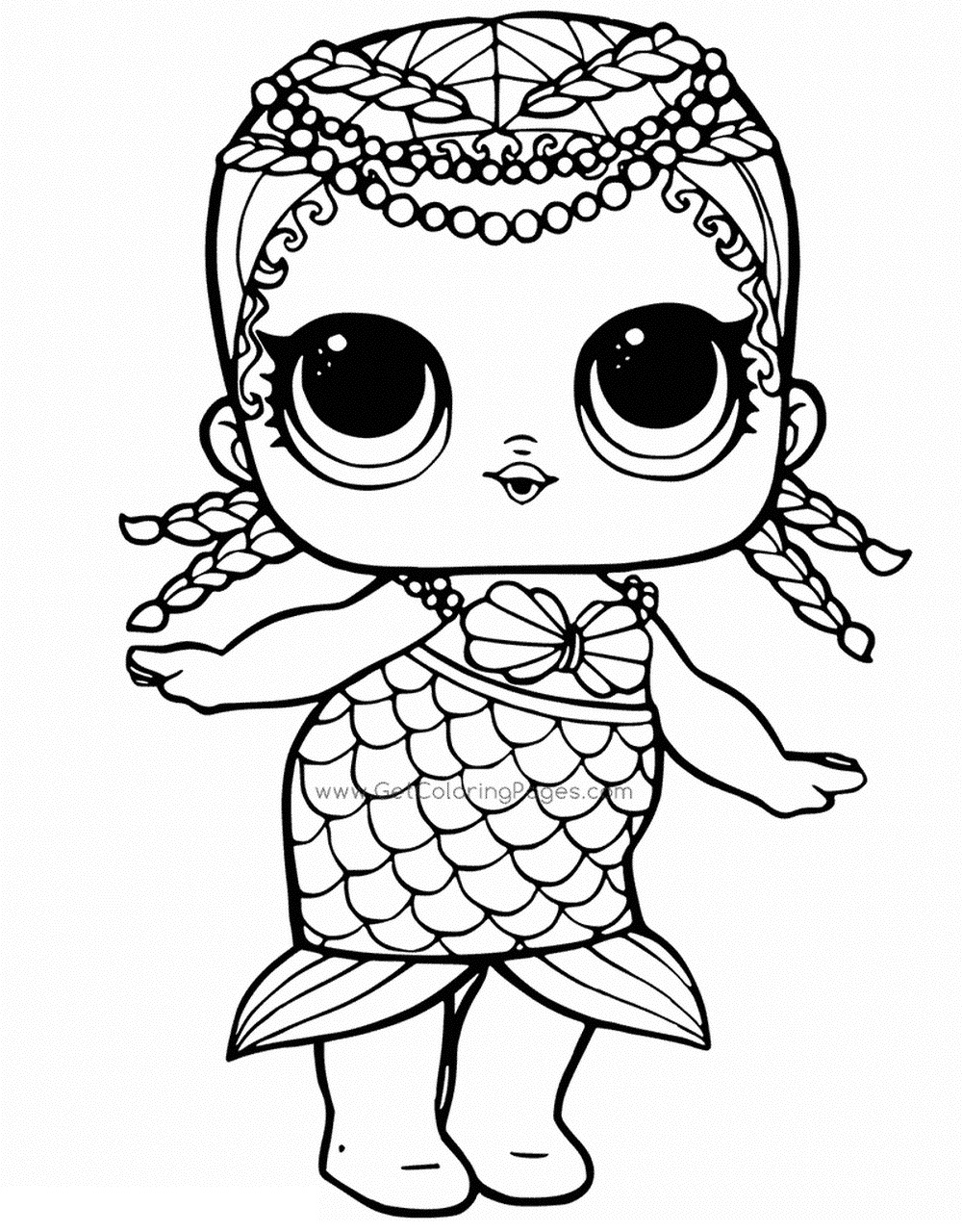 coloring pages lol LOL Surprise Dolls Coloring Pages. Print out for Free! All the Series! coloring pages lol