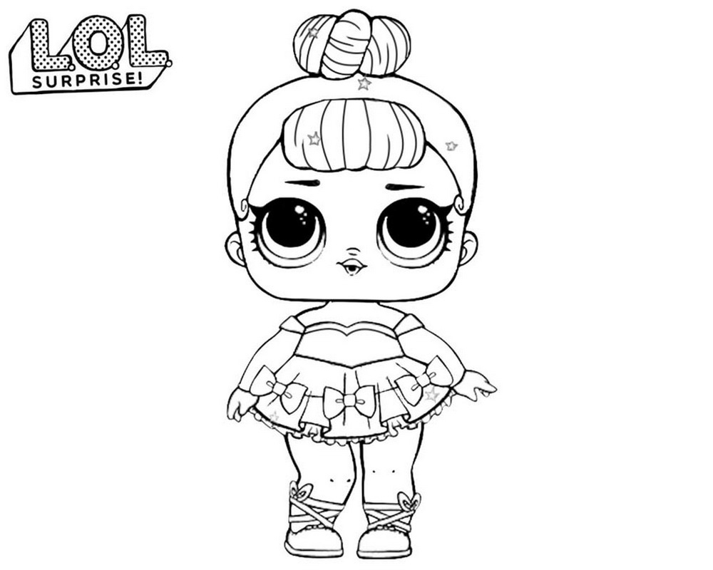 Lol Surprise Dolls Coloring Pages Print Them For Free All