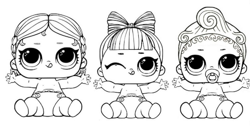 Lol Surprise Doll Para Colorear Imprime Gratis Toda La Serie