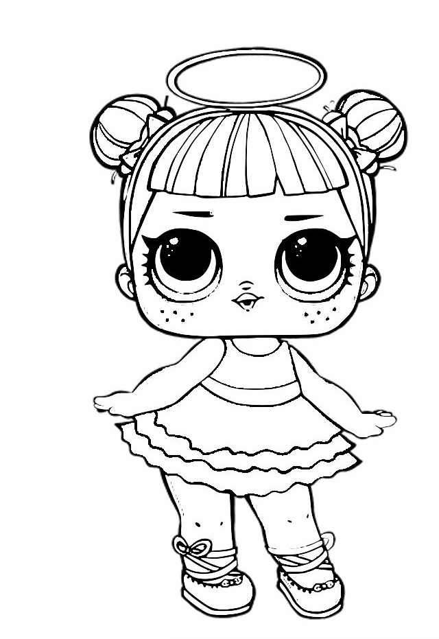 Lol Surprise Dolls Coloring Pages Print Them For Free All The Seriesrhraskrasil: Lol Dolls Coloring Pages Angel At Baymontmadison.com