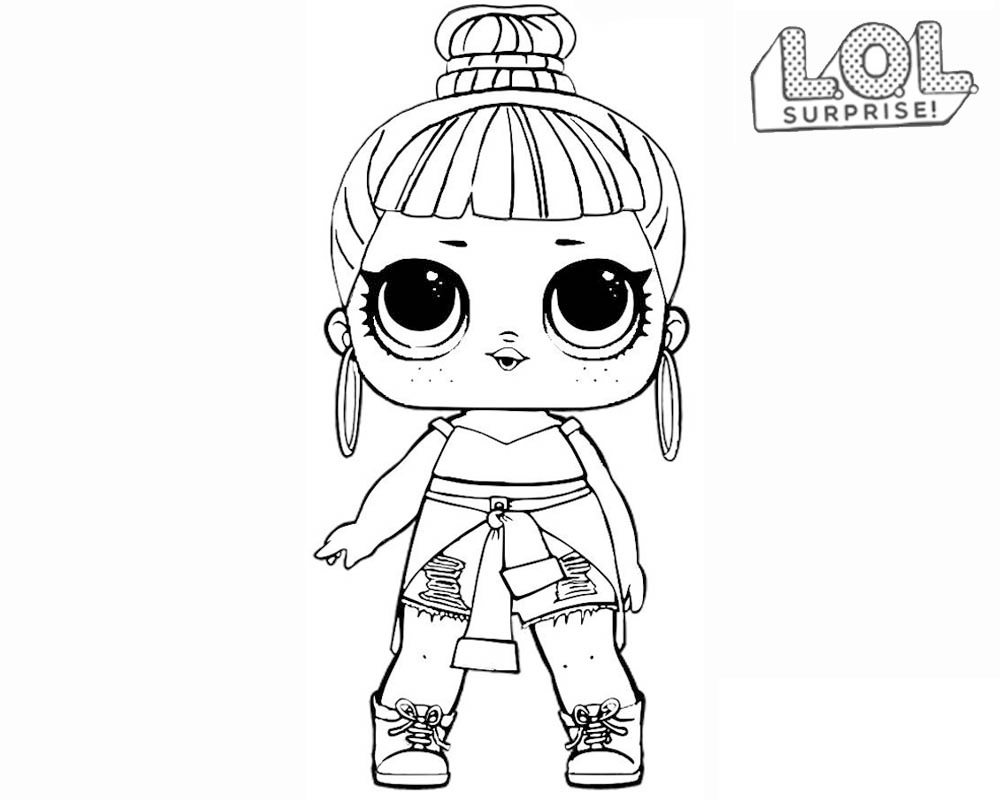 Lol Surprise Dolls Coloring Pages Print Out For Free All The Series - Coloring-sheets-for-boys