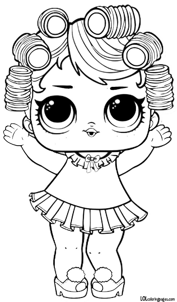 LOL Surprise Dolls Coloring Pages. Print out for Free! All the Series!