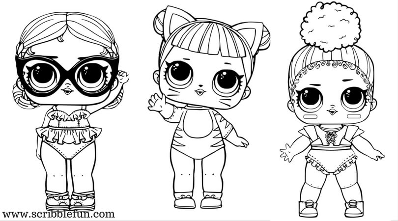 Lol Surprise Dolls Coloring Pages Print Them For Free All The Seriesrhraskrasil: Printable Coloring Pages Lol Surprise At Baymontmadison.com