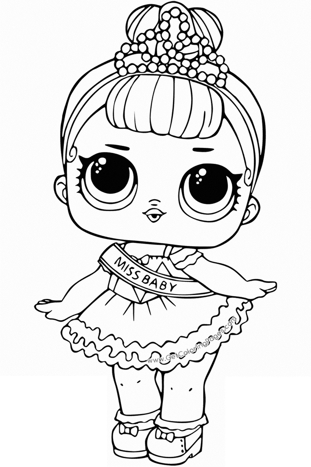LOL Surprise Dolls Coloring Pages Print Them for Free