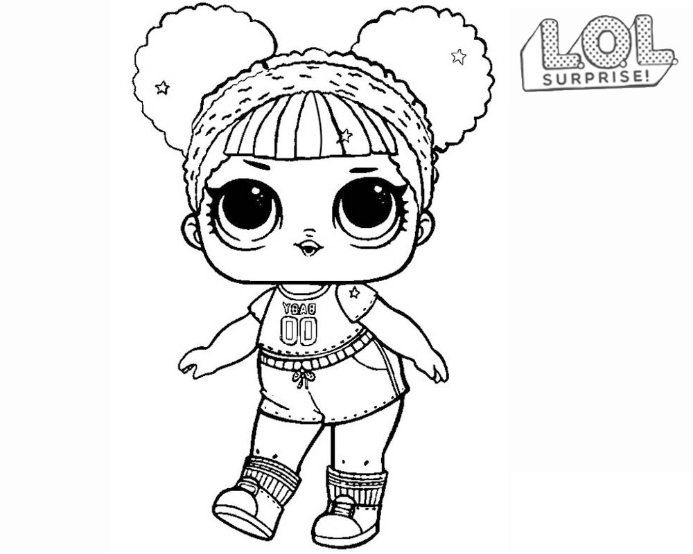 LOL Surprise doll para colorear. ¡Imprime gratis! Toda la serie