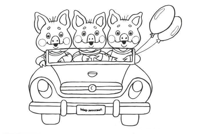 Машинки, раскраски для мальчиков. Распечатать онлайн можно здесь!