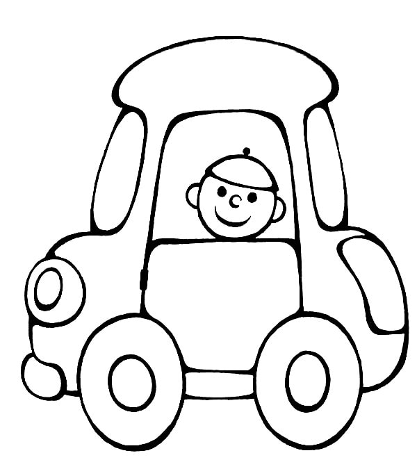 Car Coloring Pages For Boys Print Them Online Here