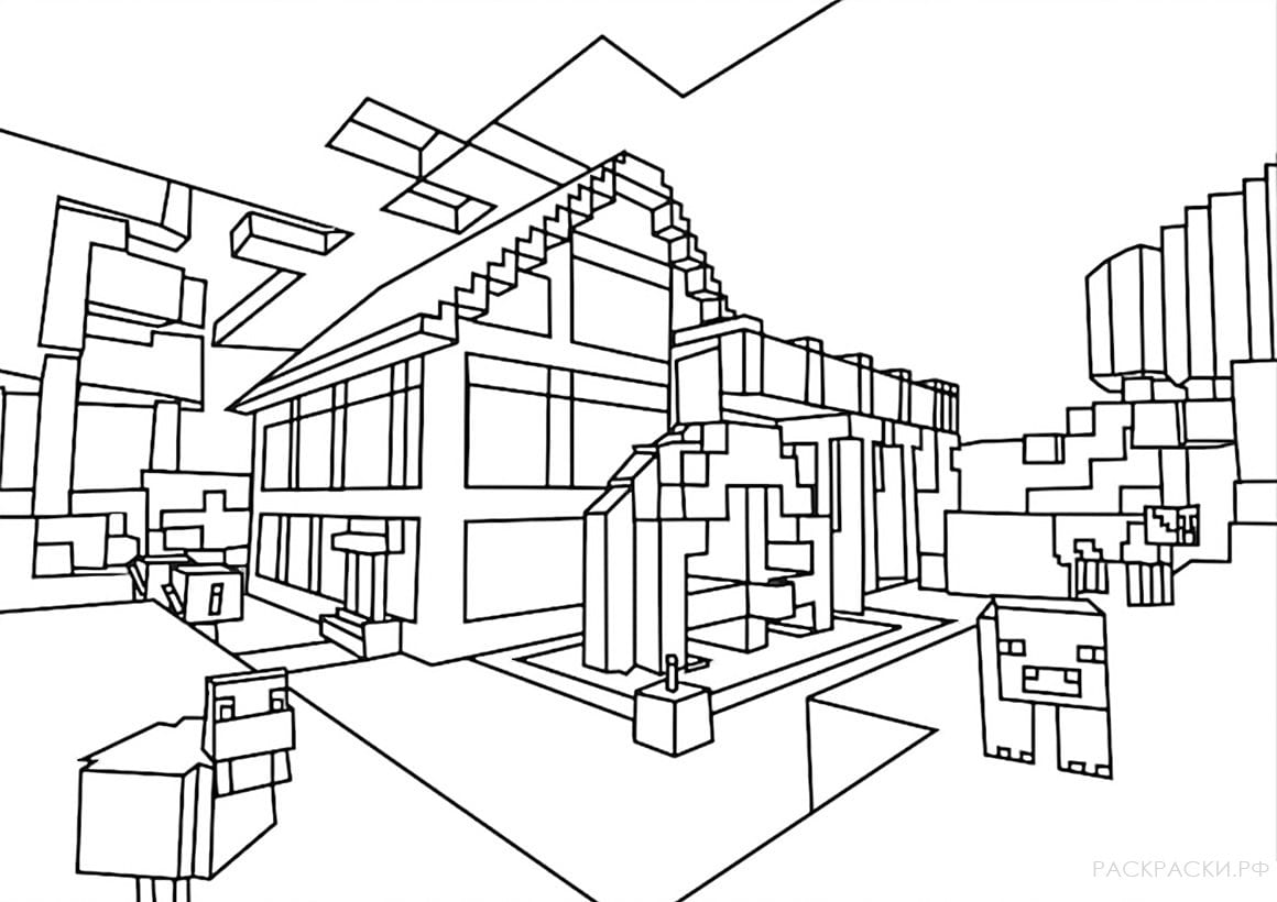 Minecraft Coloring Pages Print Them For Free 100 Pictures From The