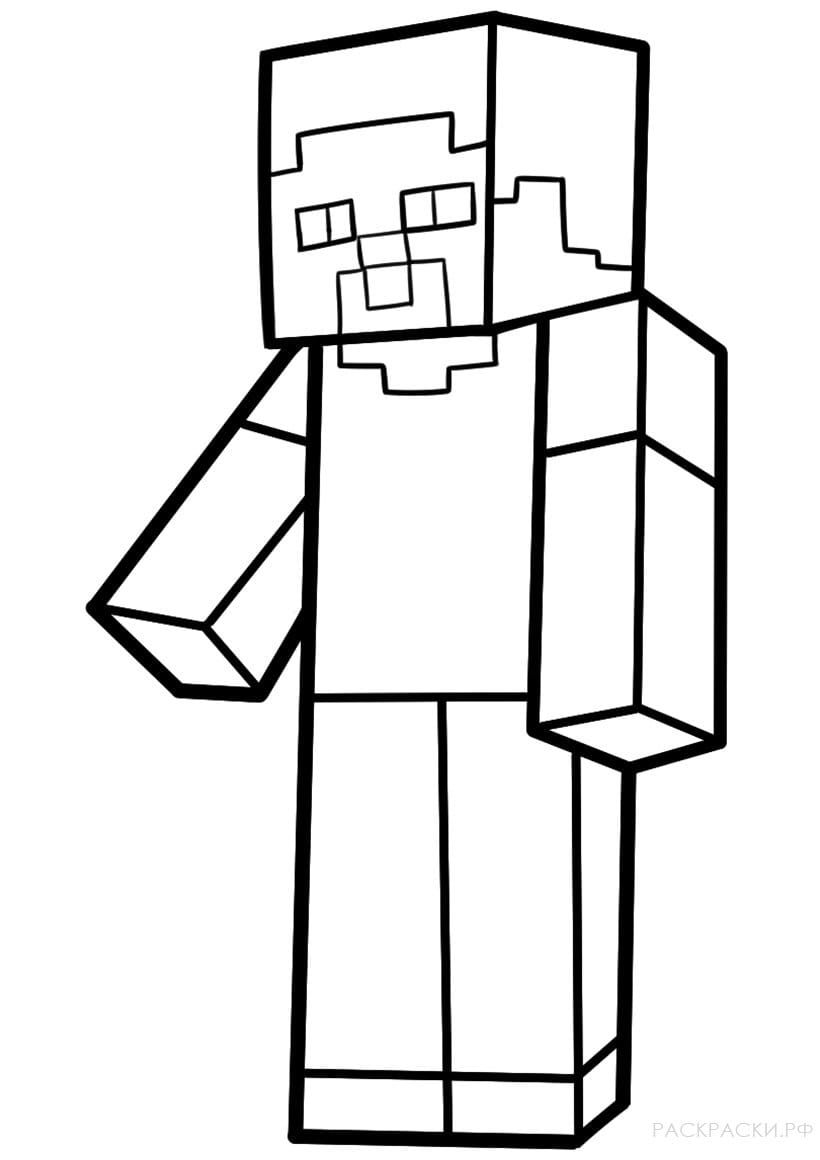 Minecraft pages à colorier. Imprimez-le gratuitement! 100 images