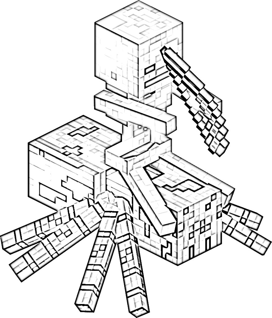 minecraft coloring pages print them for free 100 pictures from the game. Black Bedroom Furniture Sets. Home Design Ideas