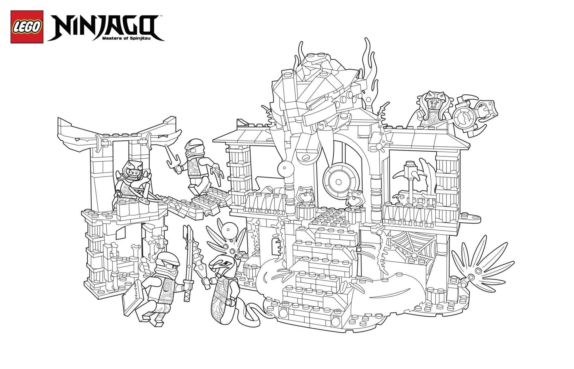 Lego Coloring Pages. Download or print for free, 100 images