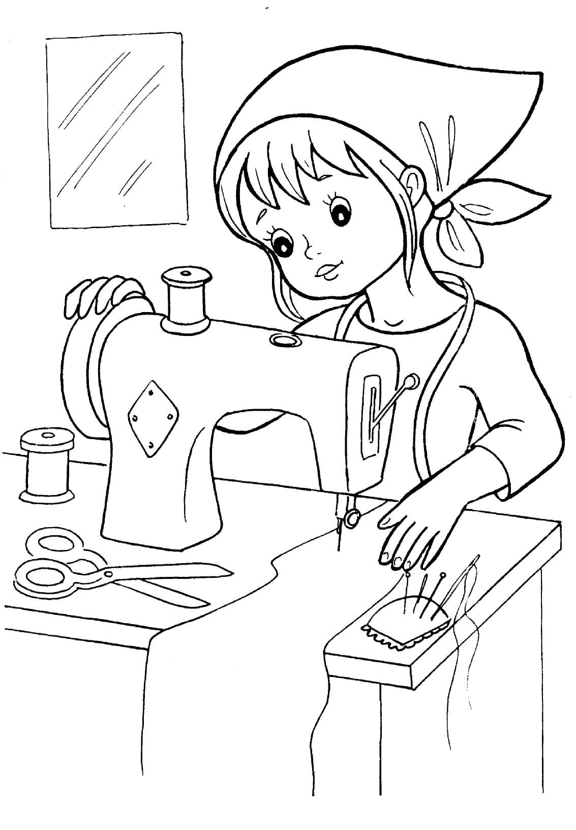 """Раскраски """"Профессии"""" для детей. Более 100 штук! Распечатайте онлайн"""