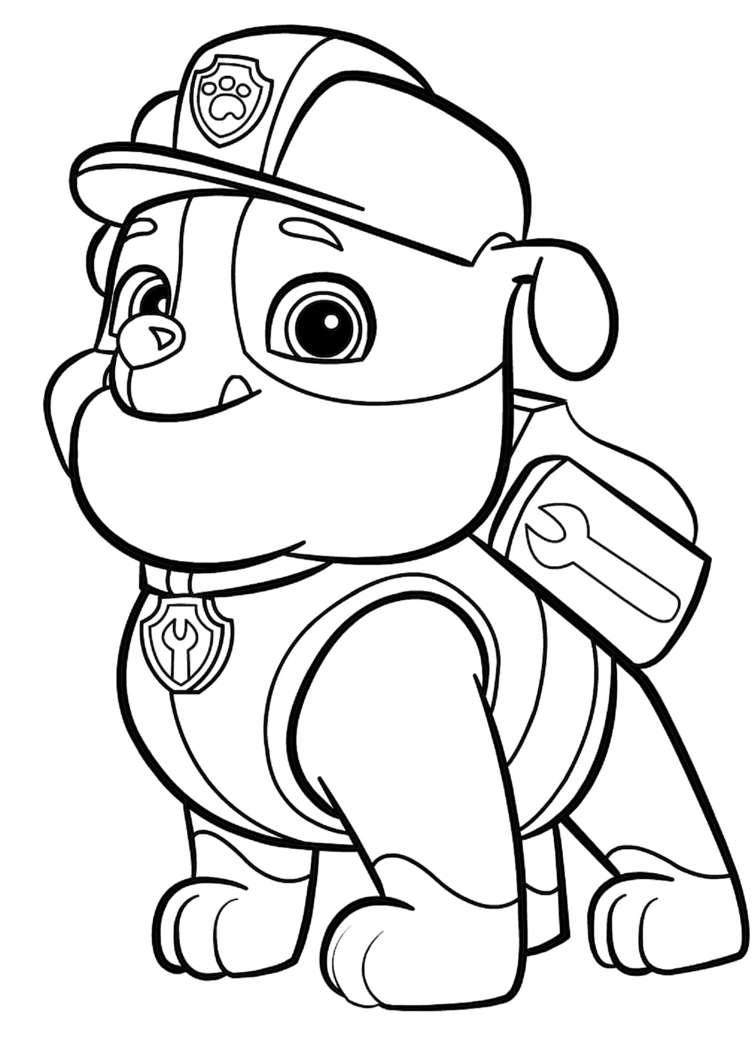 Paw Patrol Coloring Pages. 87 Pictures. Print for Free