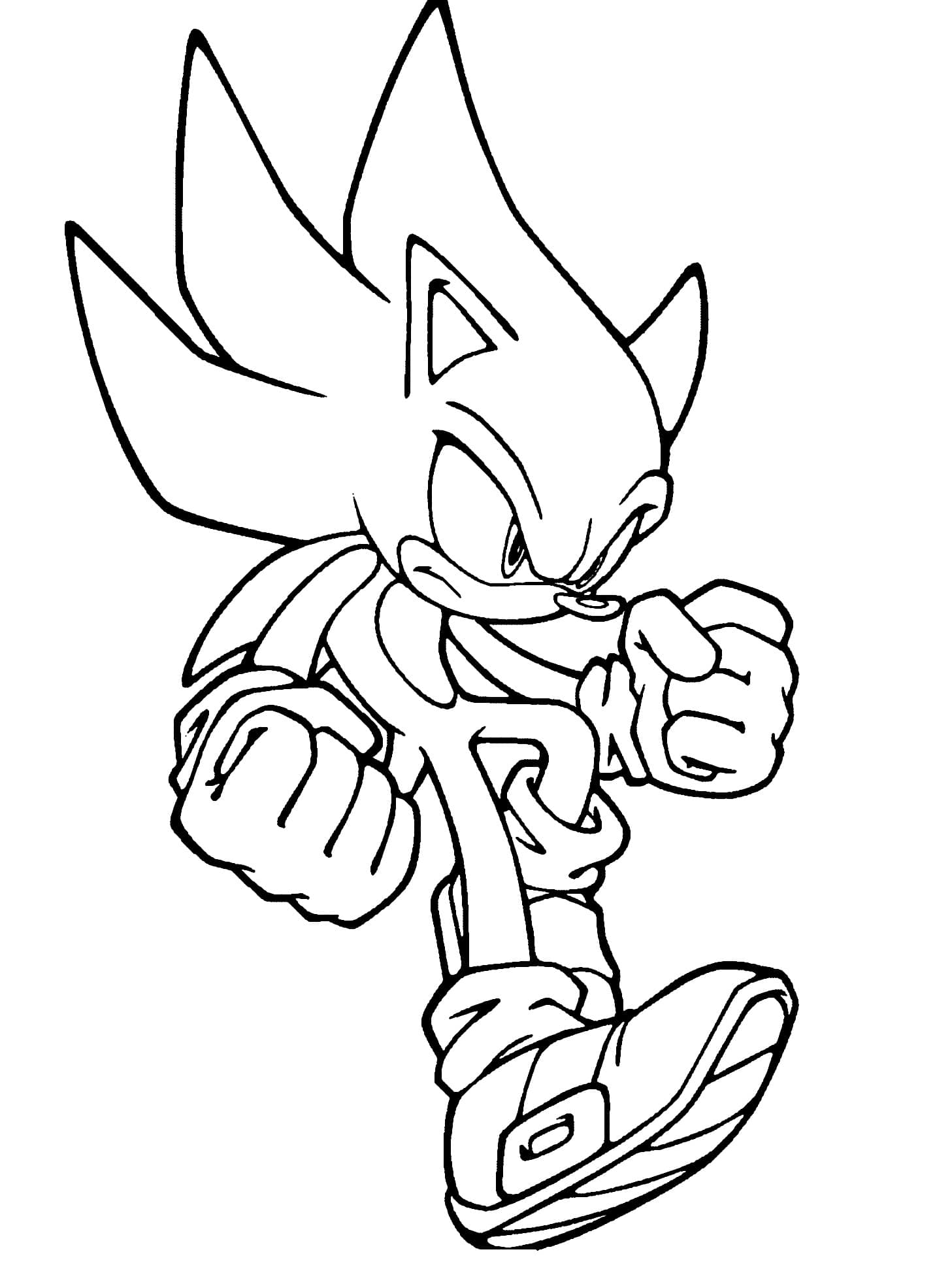 Sonic Coloring Pages. 118 New Pictures. Free Printable