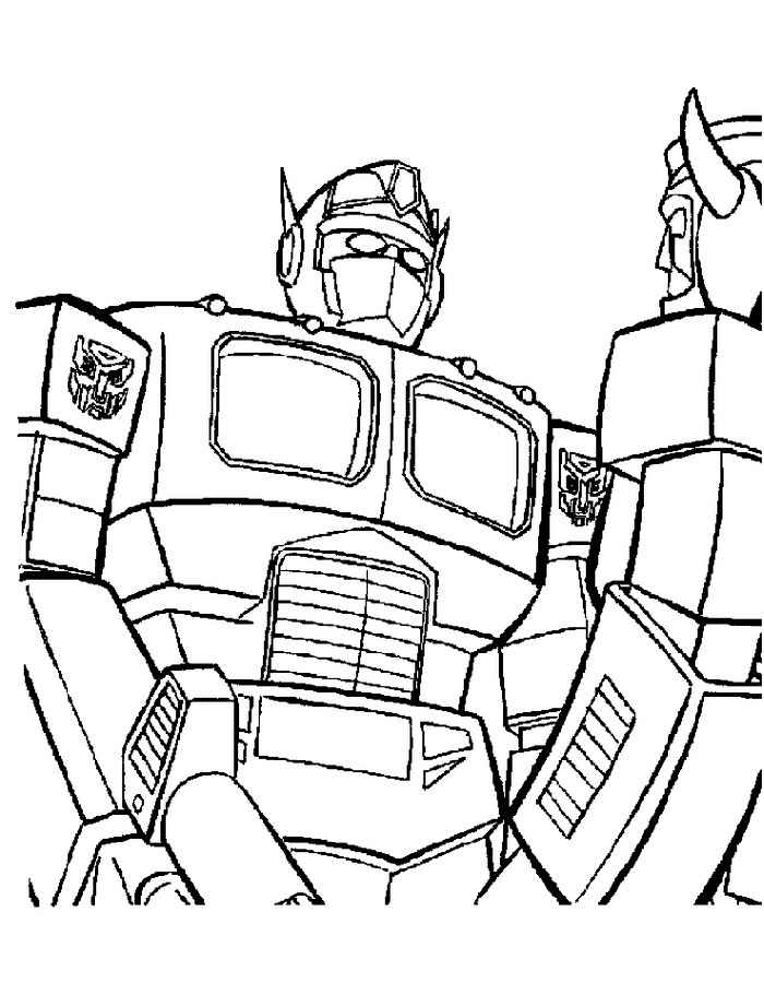 autobot skids and mudflap coloring pages | Transformers Coloring Pages. Print or Download for Free ...
