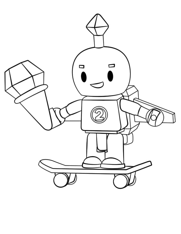 Раскраски Роблокс. Распечатайте бесплатно онлайн