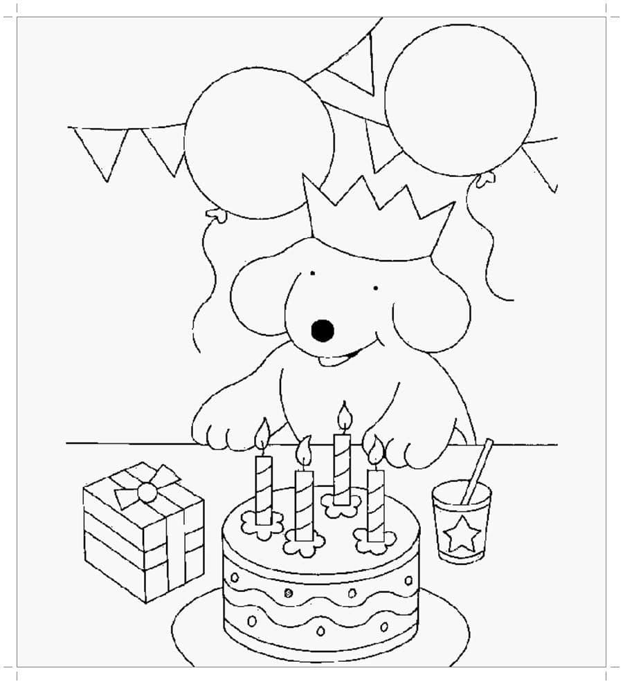 Днем, как нарисовать простую открытку с днем рождения