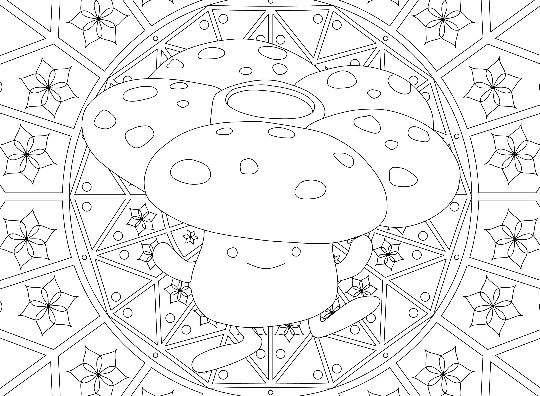 ausmalbilder mandala pokemon kostenlos drucken mehr als